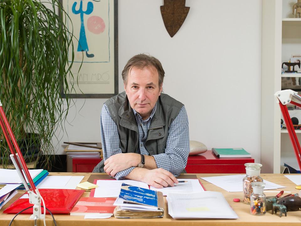 Schriftsteller Alois Hotschnig